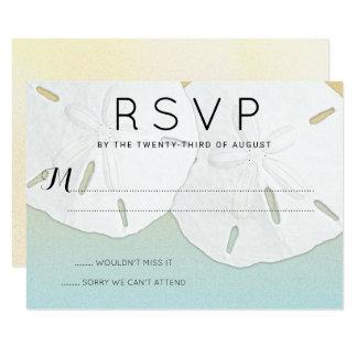 Großer Sand-Dollar UAWG Strand-Themed Karten 8,9 X 12,7 Cm Einladungskarte