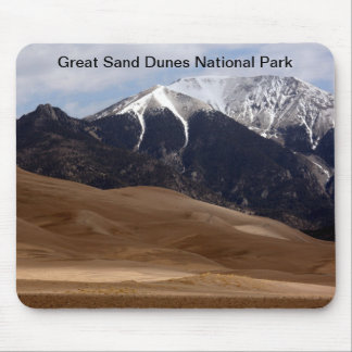 Großer Sanddüne-Nationalpark Colorado Mousepad