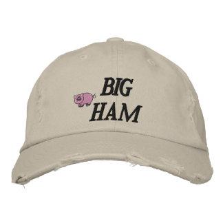 Großer Schinken gestickter Hut