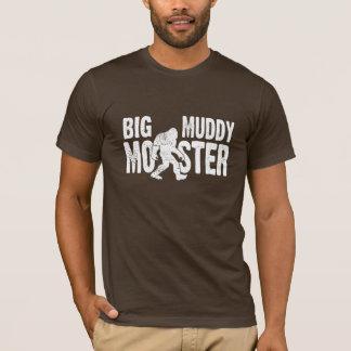 Großer schlammiger Monster-T - Shirt