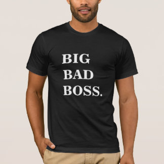 GROSSER SCHLECHTER CHEF lustiges T-Shirt