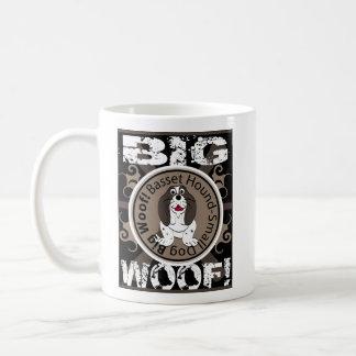 Großer Schuss Basset Hound Kaffeetasse