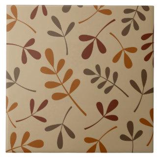 Großer sortierter Herbstlaub-Entwurf Keramikfliese