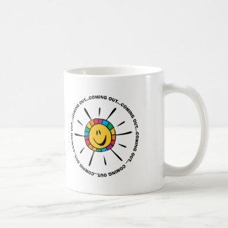 Großer Tag, zum herauszukommen! Kaffeetasse