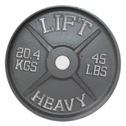 Großer Teller - 45 lbs Platte - heben Sie schweres