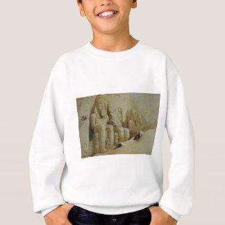 Großer Tempel Aboo Simbel Davids Roberts Sweatshirt