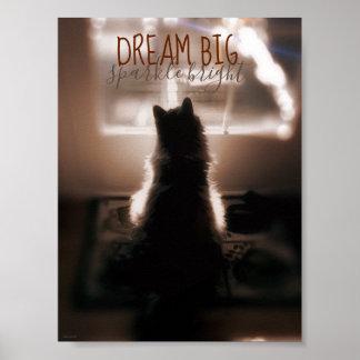Großer Traumschein-helles kleines Raum-Plakat Poster