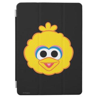 Großer Vogel-lächelndes Gesicht iPad Air Hülle