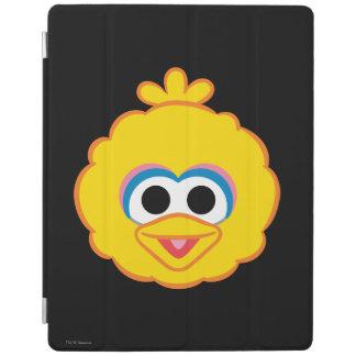 Großer Vogel-lächelndes Gesicht iPad Hülle