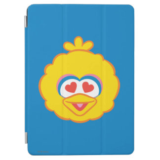 Großer Vogel-lächelndes Gesicht mit Herz-Förmigen iPad Air Hülle