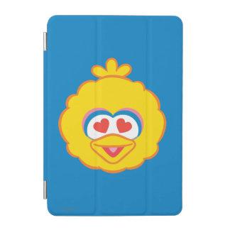 Großer Vogel-lächelndes Gesicht mit Herz-Förmigen iPad Mini Hülle