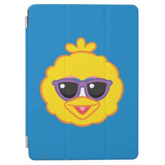 Großer Vogel-lächelndes Gesicht mit Sonnenbrille iPad Air Hülle