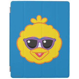 Großer Vogel-lächelndes Gesicht mit Sonnenbrille iPad Hülle