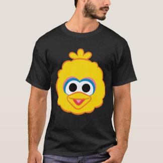 Großer Vogel-lächelndes Gesicht T-Shirt