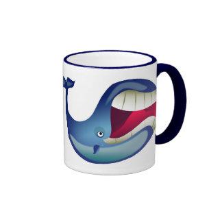 Großer Wal Ringer Tasse