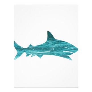 Großer weißer Ozean-Entwurf Individuelle Flyer