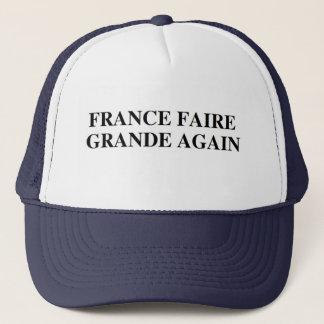Großer wieder Chapeau/Hut Frankreichs Faire Truckerkappe
