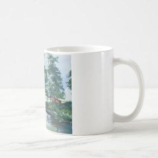 Großer Wolf-Punkt Kaffeetasse