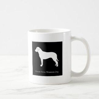 Größere Schweizer GebirgshundeTasse (Schwarzes) Kaffeetasse
