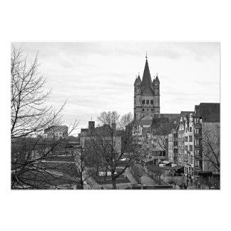 Größeres St Martin in Köln Fotodruck