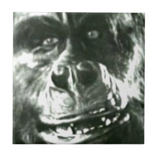 Großes Affe-Gesicht Fliese