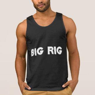 Großes Anlage-T-Shirt Tank Top