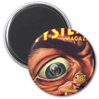 Großes beängstigendes Auge Runder Magnet 5,1 Cm