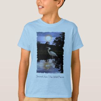 GROSSES BLAU-REIHER T - Shirts u. Spitzen