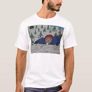 Großes d-Schlitten-Reinigen T-Shirt