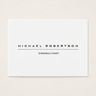 Großes einfaches einzigartiges spezielles visitenkarte