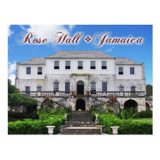 Großes Haus Rosen-Halls, St James, Jamaika Postkarte