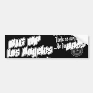 GROSSES HOHES Los Angeles Autoaufkleber