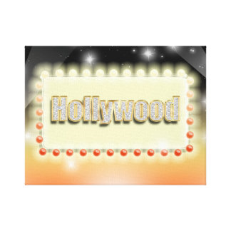 Großes Hollywood-Filmstar-Nachtkino-Ereignis Gespannte Galeriedrucke