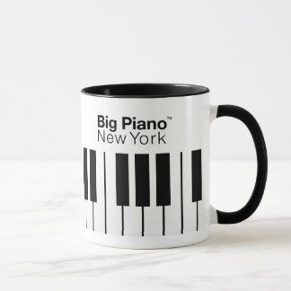 Großes Klavier (TM) New York Tasse