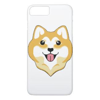 Großes Lächeln iPhone 7+ Fall @ Kiki das Shiba iPhone 8 Plus/7 Plus Hülle