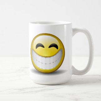 Großes Lächeln Kaffeetasse