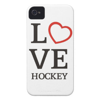 Großes LIEBE Hockey iPhone 4 Case-Mate Hülle