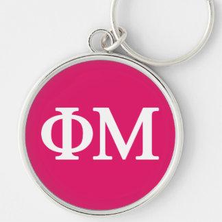 Großes Logo Phi-MU Lil Schlüsselanhänger