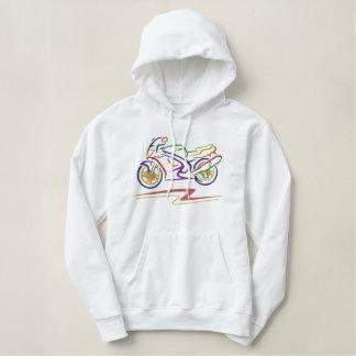 Großes Motorrad Hoodie