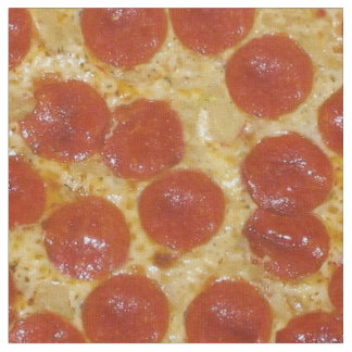 großes Pepperonipizzagewebe Stoff
