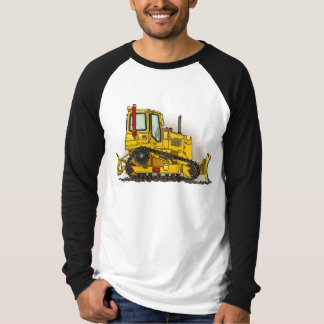 Großes Planierraupen-Bulldozer-Erwachsen-Shirt T-Shirt