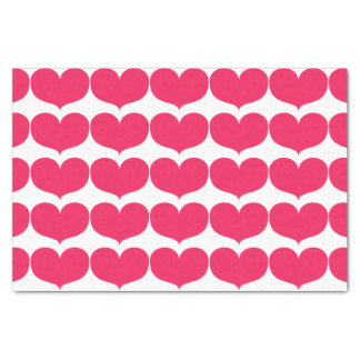 Großes rosa Herz-Seidenpapier Seidenpapier