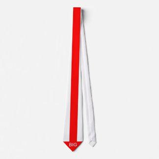 Großes Rot der Pfeil-Bindung Personalisierte Krawatten