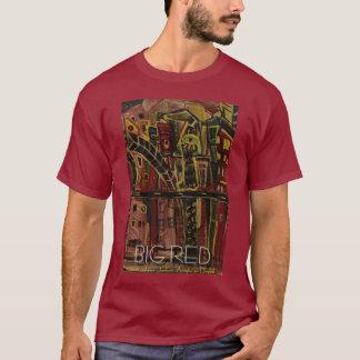 Großes Rot T-Shirt