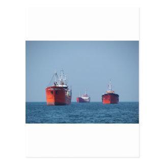 Großes Schiffs-Anchorage Postkarte