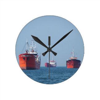 Großes Schiffs-Anchorage Runde Wanduhr