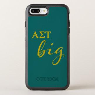 Großes Skript AlphasigmaTau OtterBox Symmetry iPhone 8 Plus/7 Plus Hülle