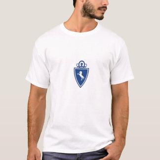 Großes spanisches Art-Indianapolis-Fußball-Logo T-Shirt