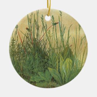 Großes Stück Rasen durch Albrecht Durer, Vintage Keramik Ornament
