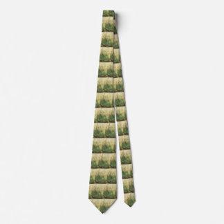 Großes Stück Rasen durch Albrecht Durer, Vintage Krawatte